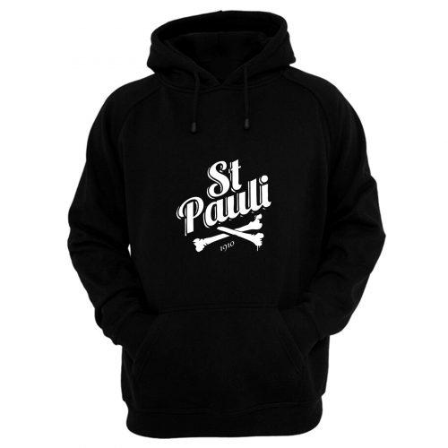 Fc St Pauli Bones Hoodie