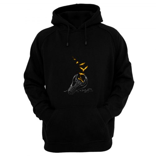 Freedom Light Bird Hoodie
