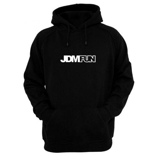 Jdm Fun Logo Hoodie