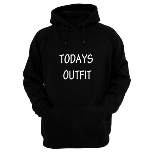 Kids Boys Girls Todays Outfit Hoodie