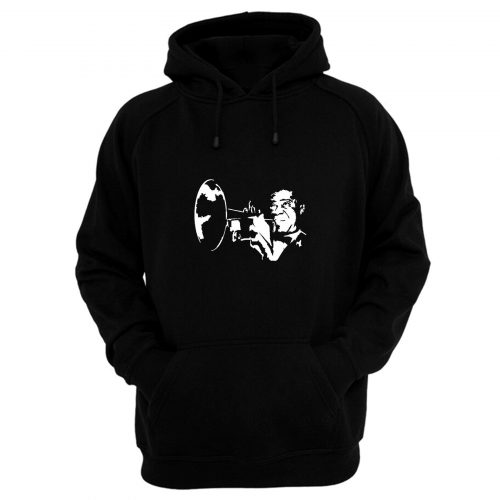 Louis Armstrong Style Hoodie