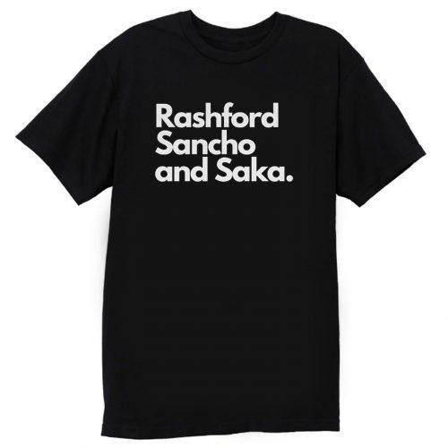 Marcus Rashford Jadon Sancho Bukayo Saka T Shirt