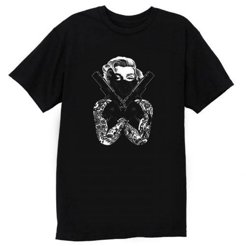 Marilyn Monroe Gangster T Shirt