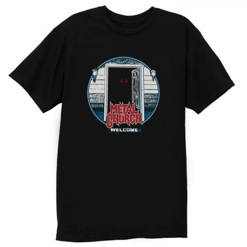 Metal Church The Dark Black T Shirt