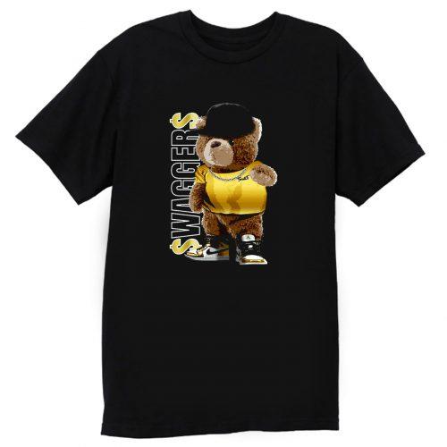 Metallic Gold Bear T Shirt