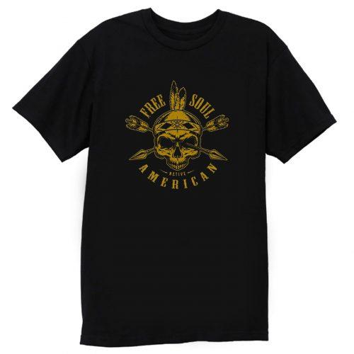 Native American Skull T Shirt
