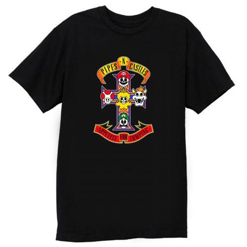 Pipes N Castles T Shirt