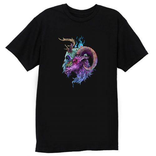 Ram Skull T Shirt