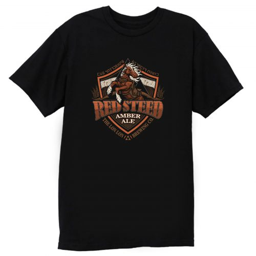 Red Steed Amber Ale T Shirt