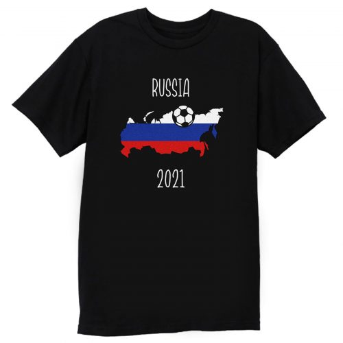 Russia Euro 2021 T Shirt