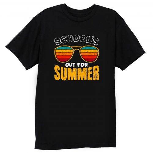 Schools Out For Summer Happy Last Day Of School T Shirt