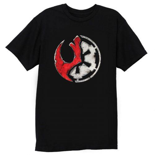 Shattered Rebel Empire T Shirt