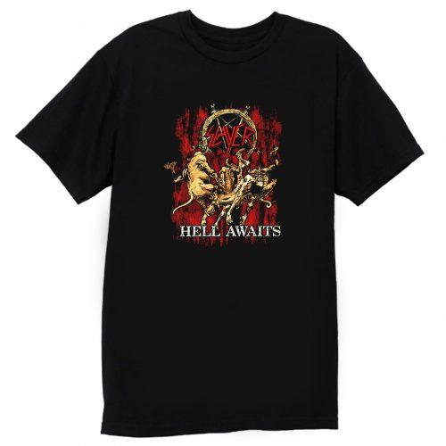 Slayer Hell Awaits T Shirt