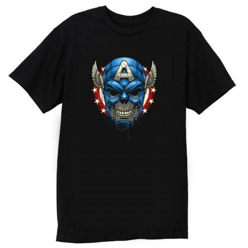 Star Spangled Skull T Shirt