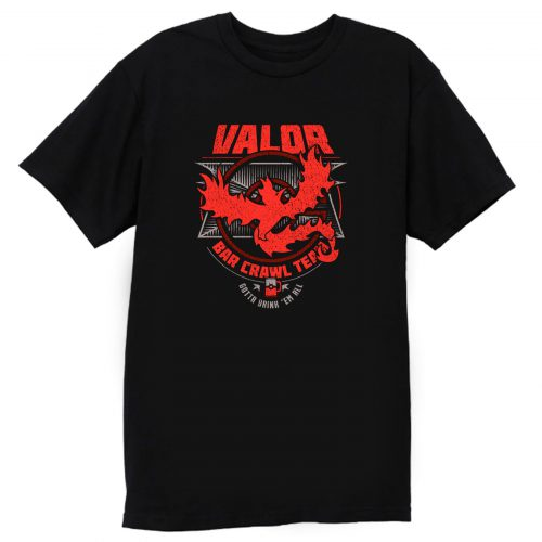 Valor Bar Crawl Team T Shirt