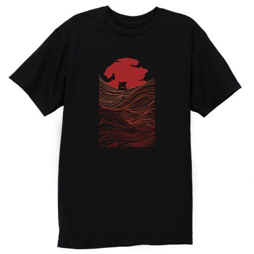 Viking At Night T Shirt